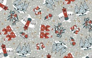 5416/S20 Santa in the Snow