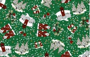 5416/G75 Santa in the Snow