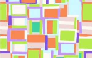 4285/P15 Crazy Squares