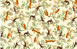 4281/Q35 Monkeys in the Forest
